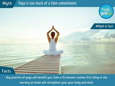 Yoga has a few myths around it...we have tried to clear the air around those myths and tell you some facts about this wonderful form of exercise. #DrAtulPeters #TeamBariatric #Myths #Facts #IYD17