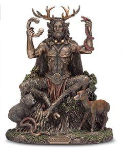 Statues & Figurines - Cernunnos Statue