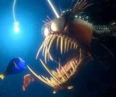 Image result for stained glass angler fish