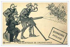 Birinci Dünya Savaşı sırasında reklam. ABD. propagandanın tarihi