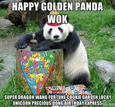 Happy birthday panda meme - photo#24