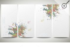 Colorful banners, abstract flyers by VectorShop on Creative Market