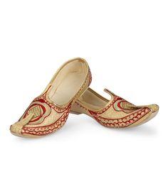 Ethnic Collection Beige Ethnic Footwear