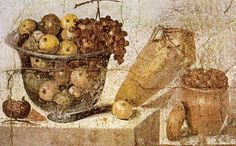 *POMPEII, ITALY ~ Roman Fresco from the House of Julia. Museo Archeologico Nazionale (Naples)