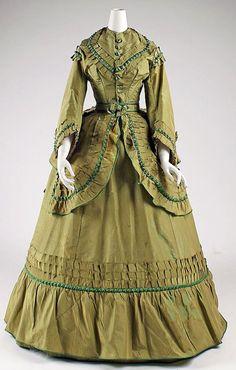 Dress 1868-1870 The Metropolitan Museum of Art