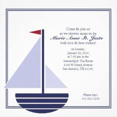 450 x 451 · 26 kB · jpeg, Nautical Baby Shower Invitations Templates