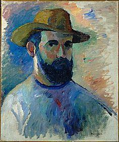 Henri Manguin - Self portrait