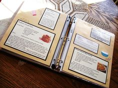 Scrapbook Cookbook - I like the simple look of this one, along with the easy remove binder pages.