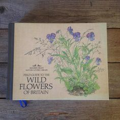Beautifully illustrated book. Guide to British Wildflowers as part of the Readers Digest series. This hardcover book would make the perfect present for a watercolour artist or creative soul, nature lovers, or as a special gift for yourself! Each page is filled with the lovely colour botanical watercolour flower illustrations alongside detailed descriptions of British species of Wildflowers. This vintage book would make a classic addition to any book collection. Please message me if you have…