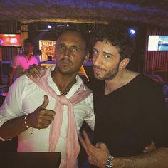 #PortHercule Me & my friend Dj Cristian  by bebo_dandy from #Montecarlo #Monaco