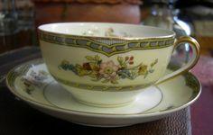 Vintage Noritake Cup and Saucer  Windsor by Vintageartshome, $14.90