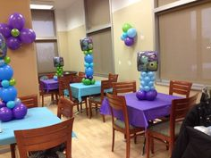 monsters inc Baby Shower Party Ideas Baby Shower Ballons, Boy Baby Shower Themes, Baby Shower Fun, Baby Shower Parties, Baby Shower Decorations, Baby Shower Gifts, Shower Party, Table Decorations, Monster 1st Birthdays