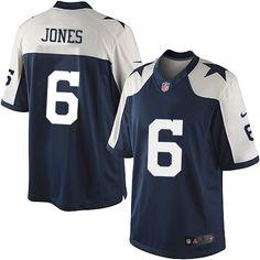 Nike Limited Chris Jones Navy Blue Men s Jersey - Dallas Cowboys  6 NFL  Throwback Alternate fbd12cac6