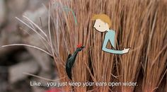 the art room plant: Nature animations featuring the work of Lotte Van ...