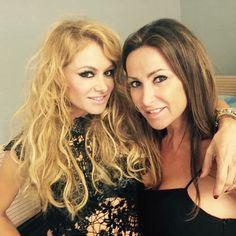 Con mi queridísima amiga Paulina Rubio ❤️❤️❤️