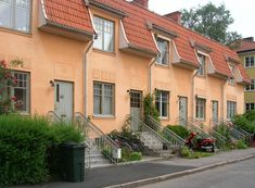 Exterior House Colors, Stockholm Sweden, Rooftop, Luxury Homes, Sweet Home, Villa, Mansions, Architecture, House Styles