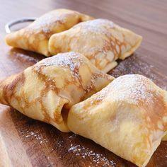 「お家で簡単バナナクレープ」の作り方を簡単で分かりやすい料理動画で紹介しています。クレープの定番 バナナクレープのご紹介です。トッピングにチョコソース、アーモンドスライスなど入れていただいてもおいしく召し上がれますよ。また、いちご、クリーム&カスタードもおすすめです。デザートにぜひお試しください。