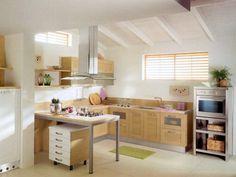 Ideas para Decorar Cocinas Americanas Pequeñas - Para Más Información Ingresa en: http://modelosdecasasmodernas.com/2013/11/15/ideas-para-decorar-cocinas-americanas-pequenas/