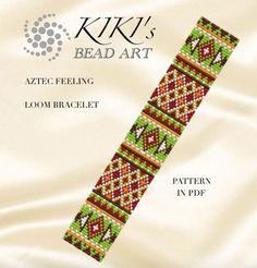 Bead loom pattern  Aztec feeling LOOM bracelet ethnic