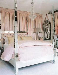 So Lisa Vanderpump - mirrored furniture