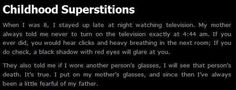 Childhood Superstitions - I LOVE creepypasta! Short Creepy Stories, Short Horror Stories, Spooky Stories, Weird Stories, Ghost Stories, Story Prompts, Writing Prompts, Creepy Facts, Creepy Stuff