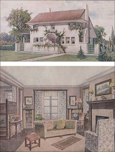 1911 Bride's House - Charles E. White by American Vintage Home, via Flickr