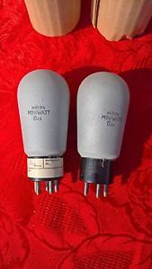 2X tube Philips BAs direct heater triode matched Pair NOS silver Hi End Pre Amp | eBay