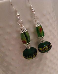 European Style Beads Dangle Pierced Earrings by SpecialtyBoutique, $9.99