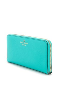 Kate Spade New York Cherry Lane Lacey Wallet, made of saffiano leather