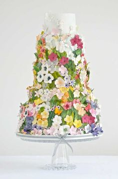 Quite a conversation piece at a wedding or shower.  Just as beautiful and colorful as any centerpiece.