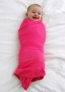 A Load Of Craft: Tutorial: How To Make A Swaddle Blanket (1 yard of jersey fabric cut in half, super easy!)