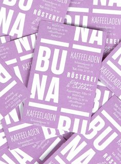 BUNA Artisan Coffee by Kristina Bartosova, via Behance