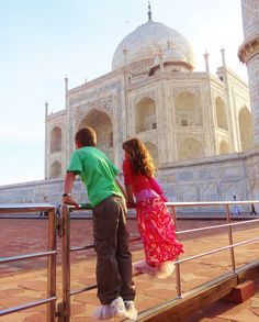 Take the family to see the wonders of the Taj Mahal in Agra India