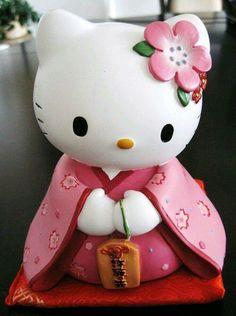 8ddb8b267 Hello Kitty in Kimono statue Miss Kitty, Sanrio Characters, Here Kitty Kitty,  Hello