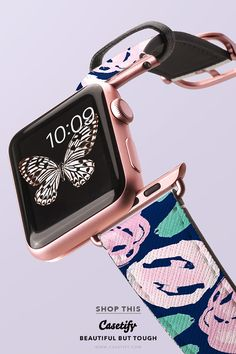 "'Pink Is The New Me."" Pinkness Overload Watchband Collection - Apple Watch Bands Silver/Rose Gold/Matte Black - Shop them here ☝️☝️☝️ BEAUTIFUL BUT TOUGH ✨ - Pink, Flower, Love, Sweet, Floral, Obsessed, Girl, Cute, Art, Flamingo, Summer, Fashion"