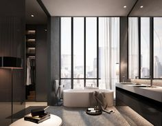 Bathroom. Image Courtesy of SCDA Architects