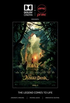 See The Jungle Book in Dolby Cinema at AMC Prime Burbank #Giveaway - That's It LA