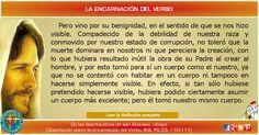 MISIONEROS DE LA PALABRA DIVINA: REFLEXIÓN - LA ENCARNACIÓN DEL VERBO