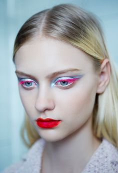 Backstage at Dior Couture. By Pat McGrath