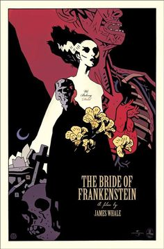 The Bride of Frankenstein by Mike Mignola *