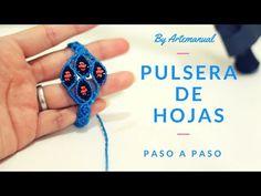 Pulsera con Hojitas Paso a Paso | Easy Bracelet - YouTube