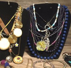 HUGE Jewelry Lot, Bead and Stone, Vintage Jewelry Lot, GOOD Jewelry Collection | eBay