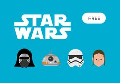 Free Star Wars - The Force Awakens Vector Icons