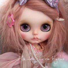 ∥ ... Muha ... ∥∵∵ Custom Blythe Little Unicorn ∵ (USED)  Buy her here:   #blythe #blythedolls #kawaii #cute #rinkya #japan #collectibles #neoblythe #customblythe
