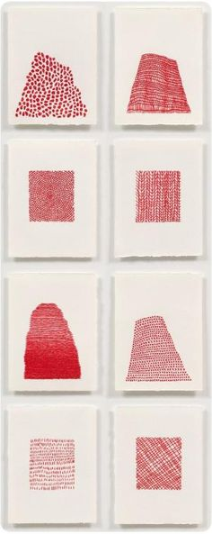 simple art Simple shapes, red embroidery thread, and thick white watercolor paper.looks simple bet its not Paper Embroidery, Embroidery Patterns, Embroidery Patches, Floral Embroidery, Embroidered Paper, Abstract Embroidery, Embroidery Digitizing, Paper Patterns, Art Patterns
