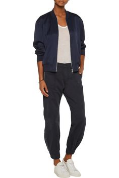 Shop on-sale J Brand Tavi cotton-twill tapered pants. Browse other discount designer Pants & more on The Most Fashionable Fashion Outlet, THE OUTNET.COM