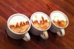 #coffee #nyc #skyline