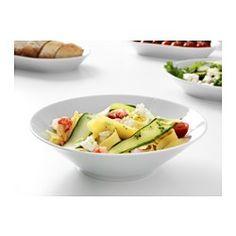 ikea 365 bowl angled sides white