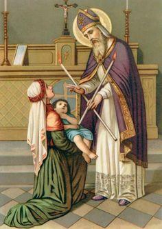 Hoje estou aqui para contar a vocês a história de São Brás, neste dia 3 de fevereiro a igreja comemora a festa desse santo que é conhecido como o santo ...