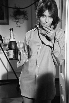 Jacqueline Bisset / production still from Casino Royale (1967)